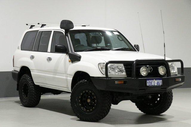 Used Toyota Landcruiser HZJ105R (4x4), 2005 Toyota Landcruiser HZJ105R (4x4) White 5 Speed Manual 4x4 Wagon