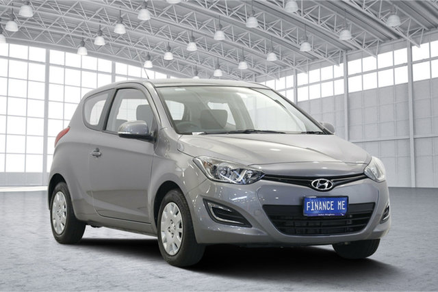 Used Hyundai i20 PB MY15 Active, 2014 Hyundai i20 PB MY15 Active Grey 4 Speed Automatic Hatchback