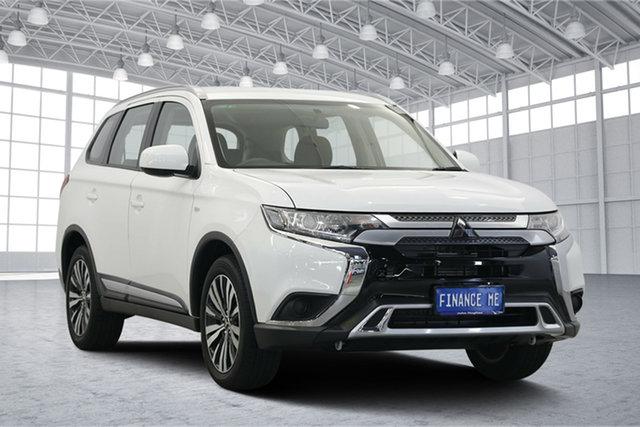 Used Mitsubishi Outlander ZL MY19 ES 2WD, 2018 Mitsubishi Outlander ZL MY19 ES 2WD White 6 Speed Constant Variable Wagon