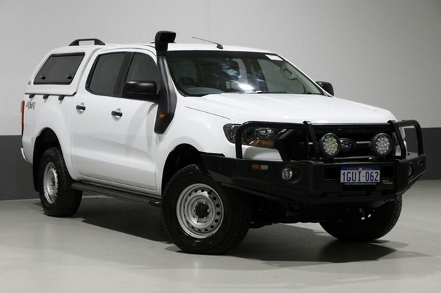 Used Ford Ranger PX MkII MY17 XL 3.2 (4x4), 2017 Ford Ranger PX MkII MY17 XL 3.2 (4x4) White 6 Speed Automatic Crew Cab Utility