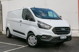 2018 Ford Transit Custom VN 2017.75MY 340L Low Roof LWB White 6 Speed Automatic Van.