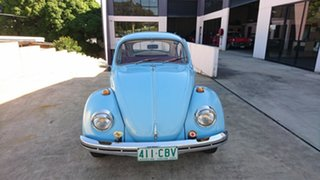 1971 Volkswagen Beetle Blue 4 Speed Manual Coupe.