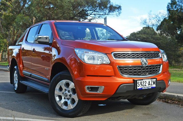 Used Holden Colorado RG MY13 LTZ Crew Cab, 2013 Holden Colorado RG MY13 LTZ Crew Cab Bronze 6 Speed Sports Automatic Utility