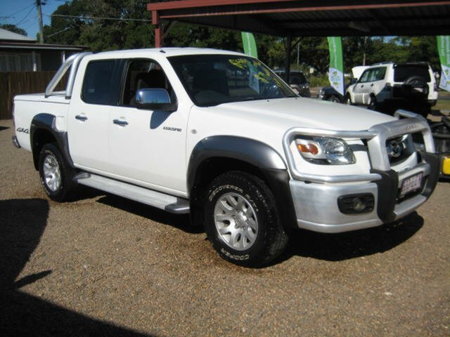 Used Mazda BT-50 UNY0E4 SDX, 2008 Mazda BT-50 UNY0E4 SDX White 5 Speed Manual Dual Cab