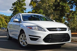 2014 Ford Mondeo MC LX PwrShift TDCi White 6 Speed Sports Automatic Dual Clutch Wagon.