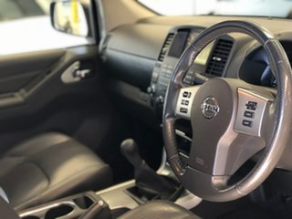 2014 Nissan Navara D40 S7 Titanium Silver 6 Speed Manual Utility.