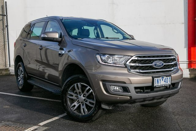 Used Ford Everest UA 2018.00MY Trend 4WD, 2018 Ford Everest UA 2018.00MY Trend 4WD Silver 6 Speed Sports Automatic Wagon