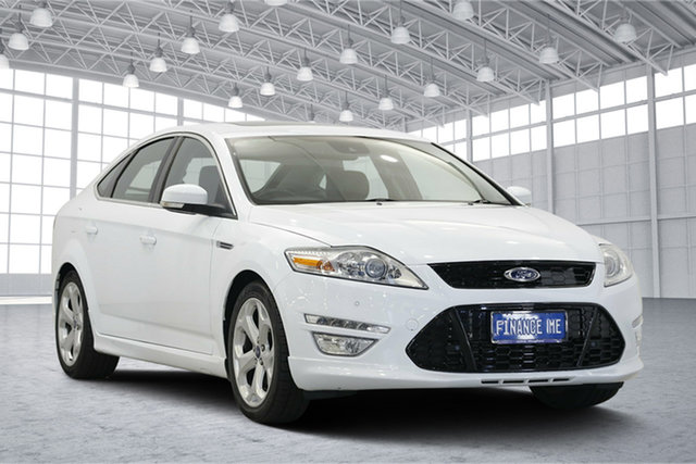 Used Ford Mondeo MC Titanium PwrShift EcoBoost, 2013 Ford Mondeo MC Titanium PwrShift EcoBoost Frozen White 6 Speed Sports Automatic Dual Clutch