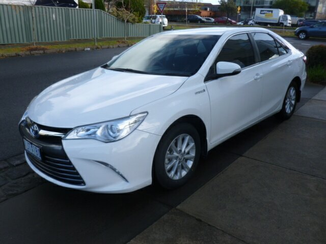 Used Toyota Camry AVV50R Altise, 2017 Toyota Camry AVV50R Altise White 1 Speed Constant Variable Sedan Hybrid