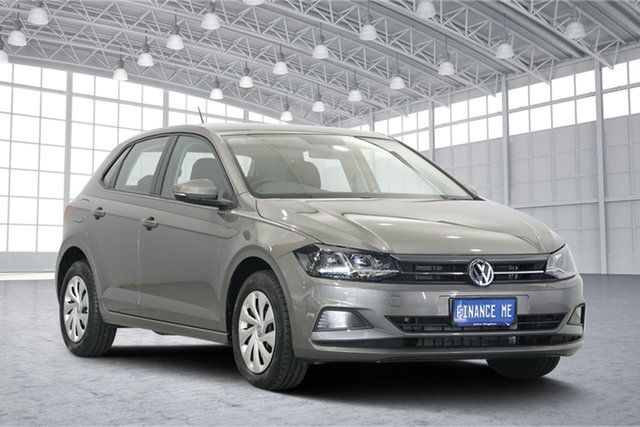 Used Volkswagen Polo AW MY18 70TSI DSG Trendline, 2018 Volkswagen Polo AW MY18 70TSI DSG Trendline Limestone Grey 7 Speed Sports Automatic Dual Clutch