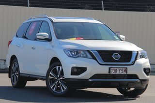 2019 Nissan Pathfinder R52 Series III MY19 Ti X-tronic 2WD Ivory Pearl 1 Speed Constant Variable.