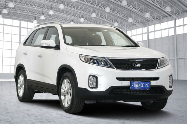 Used Kia Sorento XM MY13 SLi, 2013 Kia Sorento XM MY13 SLi White 6 Speed Sports Automatic Wagon