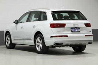 2018 Audi Q7 4M MY18 3.0 TDI Quattro (160kW) Glacier White 8 Speed Automatic Tiptronic Wagon