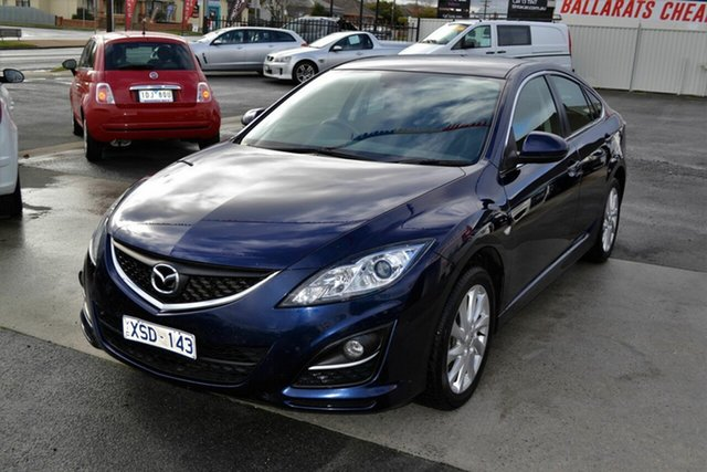 Used Mazda 6 GH MY10 Classic, 2010 Mazda 6 GH MY10 Classic Blue 6 Speed Manual Hatchback