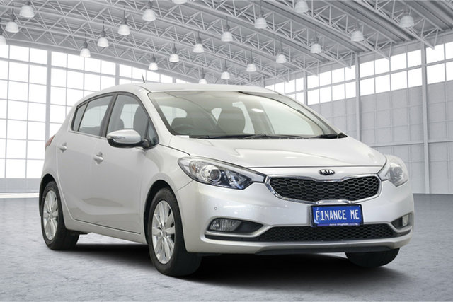 Used Kia Cerato YD MY14 SI, 2014 Kia Cerato YD MY14 SI Silver 6 Speed Sports Automatic Hatchback