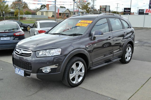 Used Holden Captiva CG Series II 7 CX (4x4), 2012 Holden Captiva CG Series II 7 CX (4x4) Grey 6 Speed Automatic Wagon
