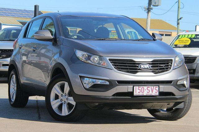 Used Kia Sportage SL MY13 SI, 2012 Kia Sportage SL MY13 SI Silver 5 Speed Manual Wagon