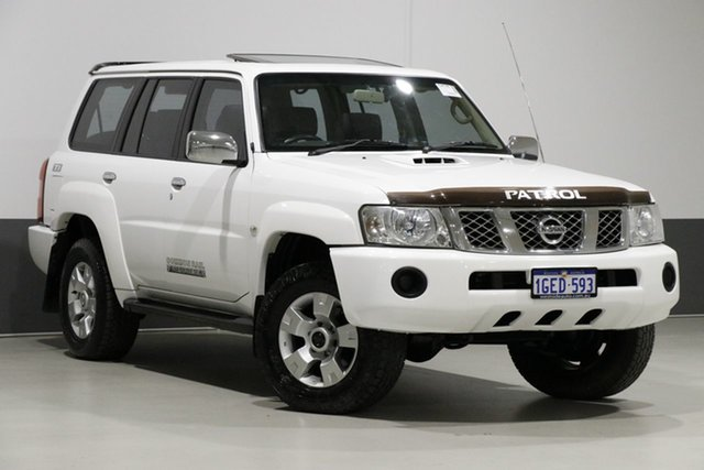 Used Nissan Patrol GU VI TI (4x4), 2008 Nissan Patrol GU VI TI (4x4) White 4 Speed Automatic Wagon
