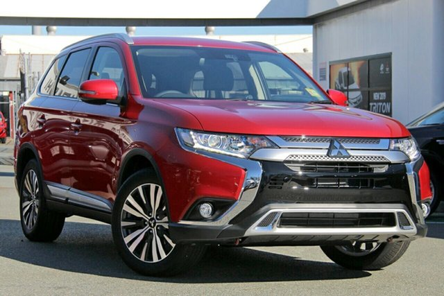 New Mitsubishi Outlander ZL MY19 LS 2WD, 2019 Mitsubishi Outlander ZL MY19 LS 2WD Red Diamond 6 Speed Constant Variable Wagon
