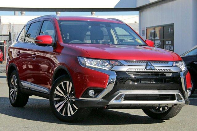 New Mitsubishi Outlander ZL MY20 LS 2WD, 2019 Mitsubishi Outlander ZL MY20 LS 2WD Red Diamond 6 Speed Constant Variable Wagon