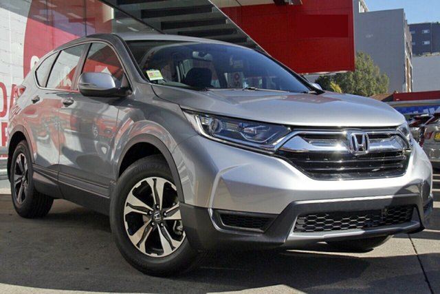 New Honda CR-V RW MY19 Vi FWD, 2019 Honda CR-V RW MY19 Vi FWD Lunar Silver 1 Speed Constant Variable Wagon