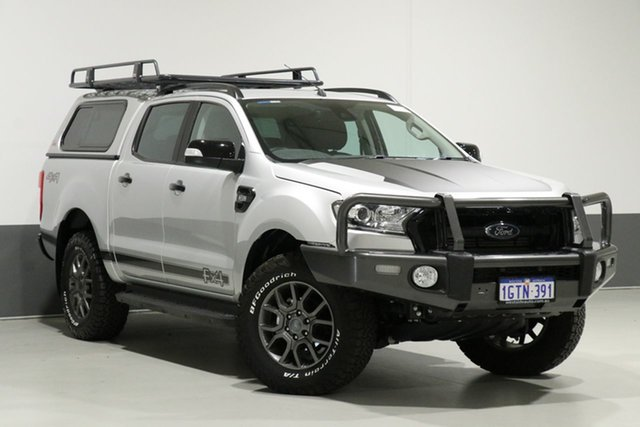 Used Ford Ranger PX MkII MY17 FX4 Special Edition, 2017 Ford Ranger PX MkII MY17 FX4 Special Edition Silver 6 Speed Automatic Dual Cab Utility