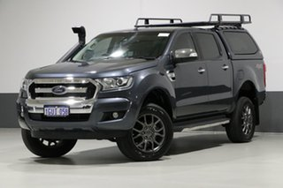 2015 Ford Ranger PX MkII XLT 3.2 (4x4) Graphite 6 Speed Manual Dual Cab Utility.