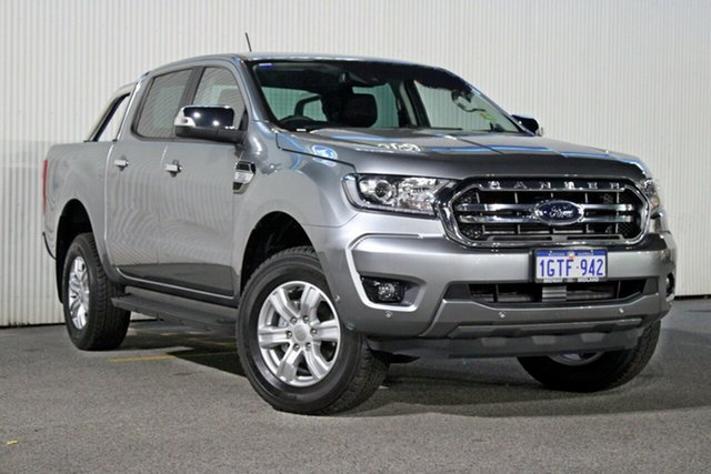Demo Ford Ranger  XLT Pick-up Double Cab, 2019 Ford Ranger PX MKIII 2019.0 XLT Pick-up Double Cab Aluminium 6 Speed Sports Automatic Utility