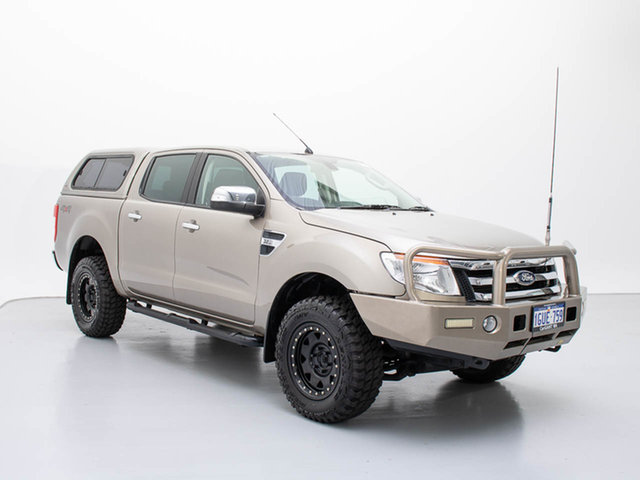 Used Ford Ranger PX XLT 3.2 (4x4), 2013 Ford Ranger PX XLT 3.2 (4x4) Silver 6 Speed Automatic Dual Cab Utility