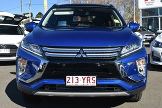 2018 Mitsubishi Eclipse Cross YA MY18 Exceed AWD Lightning Blue 8 Speed Constant Variable Wagon