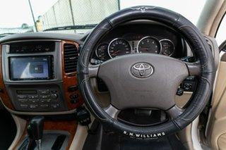 2004 Toyota Landcruiser HDJ100R Sahara White 5 Speed Automatic Wagon