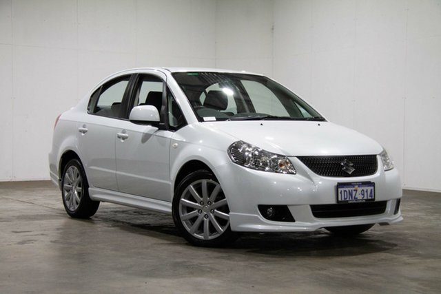 Used Suzuki SX4 GYC MY10 S, 2011 Suzuki SX4 GYC MY10 S White 6 Speed Constant Variable Sedan