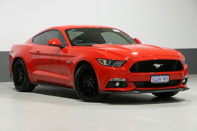 Used Ford Mustang FM MY17 Fastback GT 5.0 V8, 2016 Ford Mustang FM MY17 Fastback GT 5.0 V8 Red 6 Speed Manual Coupe