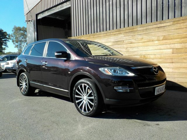 Used Mazda CX-9 TB10A1 Luxury, 2008 Mazda CX-9 TB10A1 Luxury Maroon 6 Speed Sports Automatic Wagon