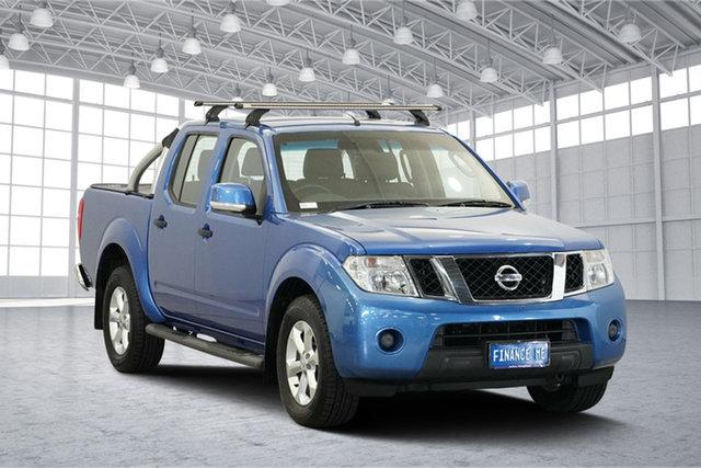 Used Nissan Navara D40 S6 MY12 ST 4x2, 2012 Nissan Navara D40 S6 MY12 ST 4x2 Blue 5 Speed Sports Automatic Utility