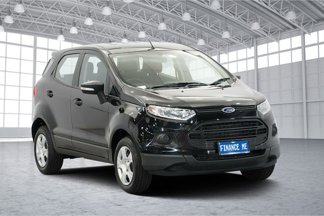 Used Ford Ecosport BK Ambiente PwrShift, 2015 Ford Ecosport BK Ambiente PwrShift Black 6 Speed Sports Automatic Dual Clutch Wagon