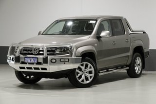 2017 Volkswagen Amarok 2H MY17 V6 TDI 550 Ultimate Beige Metallic 8 Speed Automatic Dual Cab Utility.
