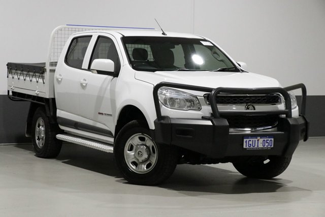 Used Holden Colorado RG MY16 LS (4x4), 2016 Holden Colorado RG MY16 LS (4x4) White 6 Speed Automatic Crew Cab Pickup