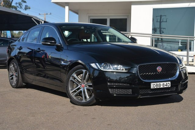 Used Jaguar XE X760 MY16 25t Portfolio, 2015 Jaguar XE X760 MY16 25t Portfolio Black 8 Speed Sports Automatic Sedan