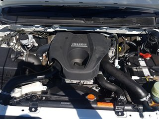 2015 Isuzu D-MAX TF MY15 SX (4x4) White 5 Speed Automatic Crew Cab Chassis