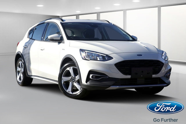 New Ford Focus SA 2019.25MY Active, 2019 Ford Focus SA 2019.25MY Active Metropolis White 8 Speed Automatic Hatchback