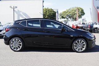 2017 Holden Astra BK MY17 RS-V Black 6 Speed Manual Hatchback.