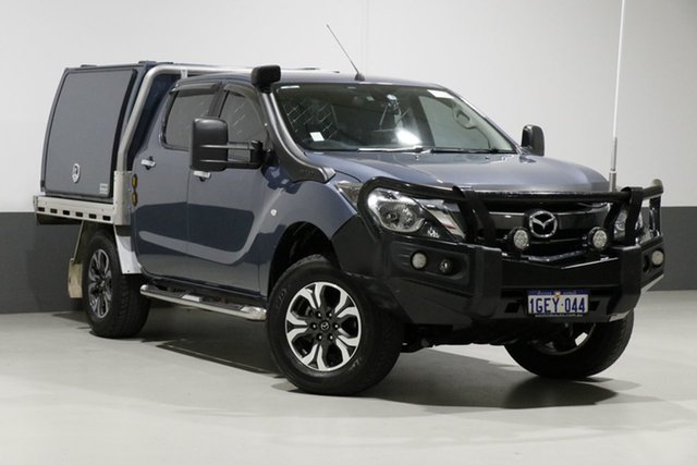 Used Mazda BT-50 MY16 XTR (4x4), 2016 Mazda BT-50 MY16 XTR (4x4) Blue 6 Speed Automatic Dual Cab Utility