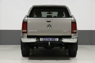 2017 Volkswagen Amarok 2H MY17 V6 TDI 550 Ultimate Beige Metallic 8 Speed Automatic Dual Cab Utility
