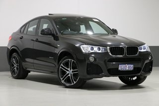 2015 BMW X4 F26 MY15 xDrive 20D Graphite 8 Speed Automatic Coupe.
