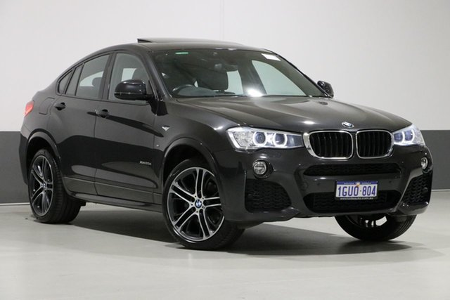 Used BMW X4 F26 MY15 xDrive 20D, 2015 BMW X4 F26 MY15 xDrive 20D Graphite 8 Speed Automatic Coupe