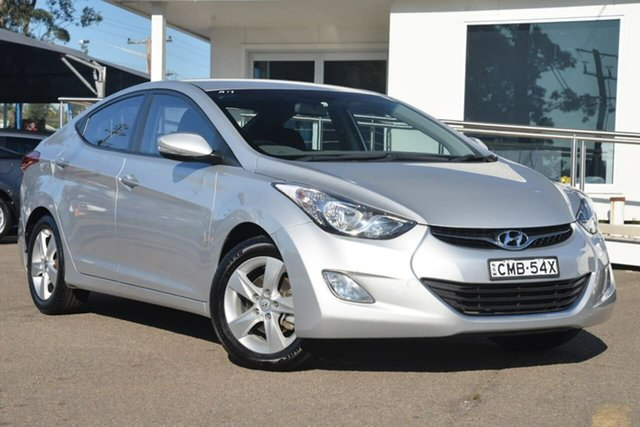 Used Hyundai Elantra MD Active, 2012 Hyundai Elantra MD Active Silver 6 Speed Sports Automatic Sedan