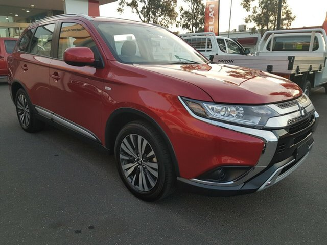 Used Mitsubishi Outlander ZL MY18.5 ES, 2018 Mitsubishi Outlander ZL MY18.5 ES Red/Black Continuous Variable Wagon