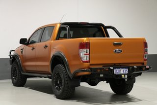 2015 Ford Ranger PX XL 3.2 (4x4) Orange 6 Speed Manual Dual Cab Utility