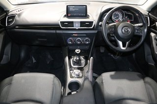 2015 Mazda 3 BM Maxx White 6 Speed Manual Sedan
